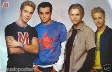 "A1 ""GROUP STANDING TOGHETHER"" POSTER FROM ASIA - U.K. & Norway Boy Band"