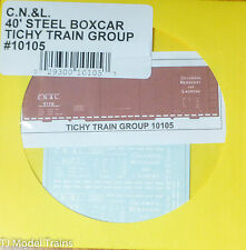 Tichy Train Group #10105 Decal for: Columbia, Newberry & Laurens 40'Steel Boxcar