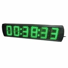 "5"" Large LED Digital Wall Clock Countdown/up Timer in HH:MM:SS Support Stopwatch"