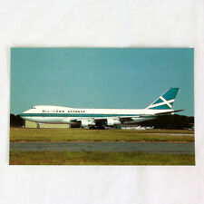 Highland Express Airways - Boeing 747 - Aircraft Postcard - Top Quality