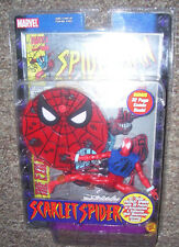 "Scarlet Spider 6"" figure 2001 KB Exclusive Toy Biz Spider-Man Classics VHTF"