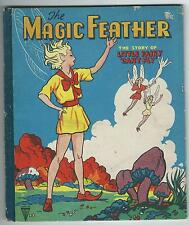 "The Magic Feather The Story Of Little Fairy ""Can't Fly"" 1950's Children's Book"