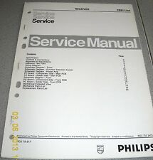 Philips FR911/00S Receiver Service Manual