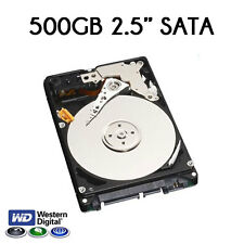"New 500GB 2.5"" SATA Western Digital Hard Disk Drive"