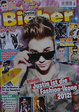 JUSTIN BIEBER - Picture Star Magazin 05/2012 + XXL Poster - Clippings Sammlung