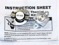 8318314 DRYER THERMAL CUT OFF KIT WHIRLPOOL KENMORE MAYTAG KITCHENAID