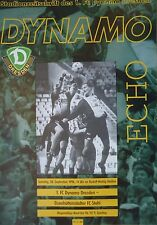 Programm 1996/97 FC Dynamo Dresden - Stahl Eisenhüttenstadt