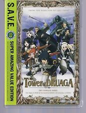 The Tower of Druaga: The Complete Series - S.A.V.E. (DVD, 2012, 4-Disc Set)