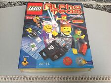 Vintage Pc  Cd Rom  Lego Alpha Team Game Factory Sealed Sigillato