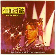 "12"" LP - Various - Streets Of Fire - Soundtrack - #A3193 - washed & cleaned"