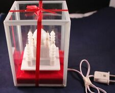 "Vintage 5.5"" Electrical Temple in Plastic DisplayCase (Euro Type Wall-Plug)"