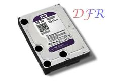 "HARD DISK INTERNO 3,5"" 2TB 2000 GB WESTERN DIGITAL PURPLE PER VIDEOSORVEGLIANZA"