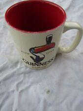 GUINNESS MUG COFFEE / TEA TOUCAN rare red inner