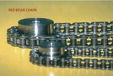 #100H HEAVY ROLLER CHAIN RIVETED 10FT REEL New From Red Boar Chain 100H-1R-10FT