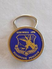 Vintage Carswell AFB Strategic Air Command Suggestion Program Key Chain Clip