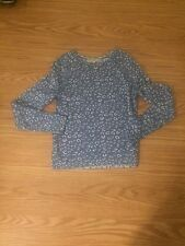 Long sleeve pull over blue sweter sz xs ann taylor loft nice enough for work!