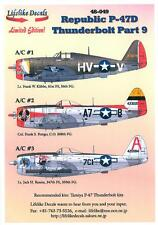 Lifelike Decals 1/48 REPUBLIC P-47D THUNDERBOLT Part 9