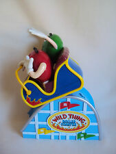 COLLECTIBLE M & M WILD TRING ROLLER COASTER CANDY DISPENSER WORKING