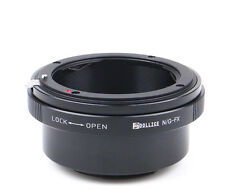 Dollice Nikon F G DX Lens to Fujifilm X mount FX Adapter X-Pro2 E2 M1 T2 camera