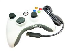 Wired Xbox 360 Controller for Microsoft XBOx360 and Windows PC - Attic White