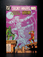 COMICS: DC: Secret Origins #38 (1980s), Green Arrow/Speedy - RARE (batman/flash)