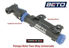 "0370  Pompa Gonfiatore ""BETO"" Two-Way Universale per bici 20-24-26 BMX Freestyle"