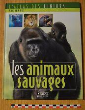 Atlas des juniors, les animaux sauvages, Atlas Jeunesse éditions, 30 pages