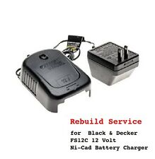 REPAIR SERVICE for Black and Decker FS12C 12 Volt Battery Charger 5101181-01