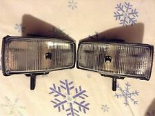 2 NEW OLD STOCK Marchal 150 Fog Lights With Buick Covers For Cars / Small Truck