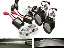 "2.5"" Mini Bi-Xenon Retrofit Projector Lens w/H1 HID Conversion Kit, Shroud Combo"