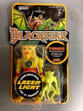1983 GALOOB BLACKSTAR TONGO THE LEOPARD MAN & ALIEN DEMON ACTION FIGURE SET