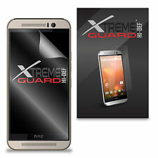 6-Pack Clear HD XtremeGuard HI-DEF Screen Protector Skin Cover For HTC One M9
