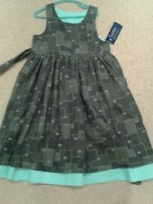 BNWT Seesaw Girls Dress Age 6. Reversible . Gorgeous . Winter .