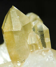 A BIG! Beautiful 100% Natural AAA Golden Healer Quartz Crystal Cluster! 411gr