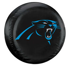 Carolina Panthers Large Spare Tire Cover [NEW] NFL Car Auto Wheel Nylon CDG