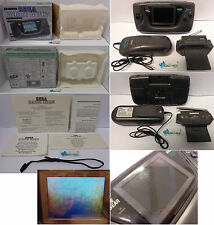 Console Portatile Gioco SEGA Game Gear PAL TV Tuner Battery Pack Scatola Manuali