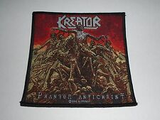 KREATOR PHANTOM ANTICHRIST WOVEN PATCH