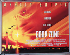 Cinema Poster: DROP ZONE 1995 (Quad) Wesley Snipes Gary Busey Yancy Butler
