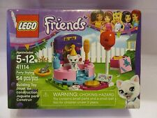 LEGO Friends Party Styling Pet cat Shop 54 pcs. NEW in Box 41114 balloon brush