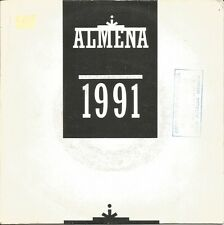 ALMENA-RIO MANZANARES + LOS MADRILES SINGLE VINILO 1991 SPAIN REGULAR COVER