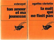 AGATHA CHRISTIE + La nuit qui ne finit pas + ton amour... + PARIS POSTER GUIDE