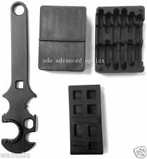 3 Combo! Gunsmith Armorer's Tool Kit ar15 Lower & Upper Vise Block & Wrench