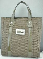 Nuovo Borsa GUESS Bellavani Satchel Taupe Donna NeuF
