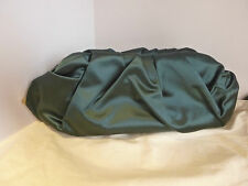 Lanvin 100% Silk green clutch USED ONCE