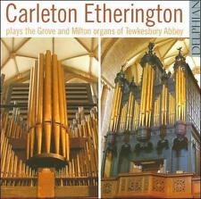 Plays Grove & Milton Organs of Tewkesbury Abbey, New Music
