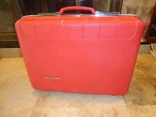 Starflite Vintage Hard Shell Suitcase RED Luggage 20""