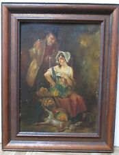 VINTAGE Oil Painting Listed German Artist Lehmann Wilhelm Leonhard 1877 - 1954.
