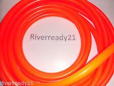 """3/8"""" I.D. Orange Fuel-Gas-Cooling-Line Hose 5/8"""" O.D. Jet-Ski Sold x the Foot"""