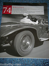 Brooks auction catalogue 1997 vente 74 earls court london ferrari 250GT mg midget