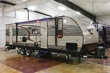 New 2016 274DBH Lite Bunkhouse Travel Trailer Slide Out Camper Bunks Never Used